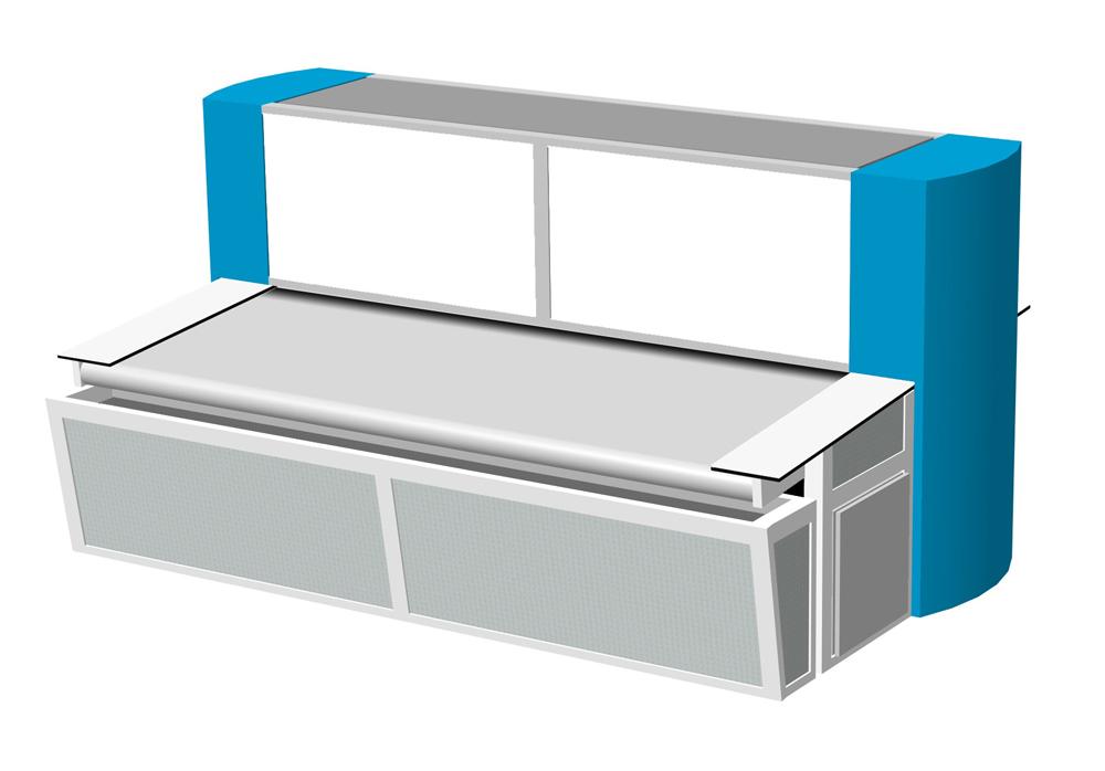 cutEXPERT leather scan conveyor